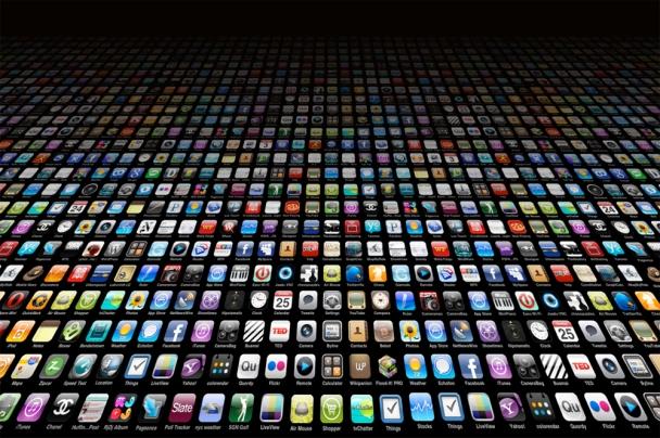 mar de aplicativos para iOS